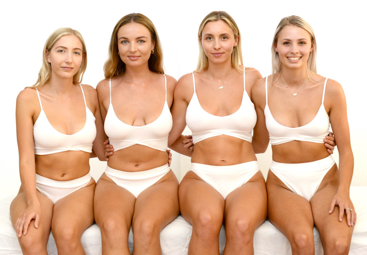 a group of ladies after the cryo treatment
